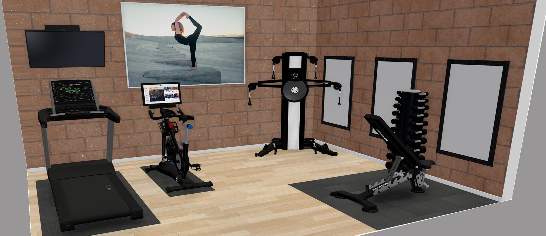Γυμναστήριο για Βίλλα