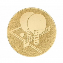 Μετάλλιο για Αγώνες Ping Pong Επίχρυσο