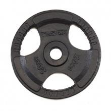 Δίσκος Μεταλλικός με Λαβές 20kg Ø50mm Toorx