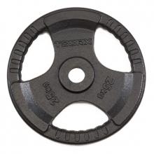 Δίσκος Μεταλλικός με Λαβές 25kg Ø50mm Toorx