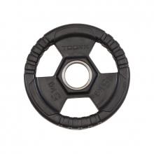 Δίσκος Πλαστικός με Λαβές Φ50mm 5 kg Toorx
