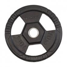 Δίσκος Πλαστικός με Λαβές Φ50mm 10 kg Toorx
