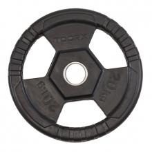 Δίσκος Πλαστικός με Λαβές 20kg Φ50mm Toorx