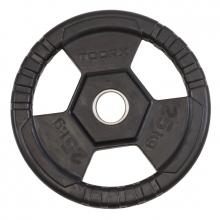 Δίσκος Πλαστικός με Λαβές Φ50mm 25 kg Toorx
