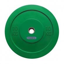 Δίσκοι για Μπάρες Βάρους 10kg Challenge Bumper Toorx