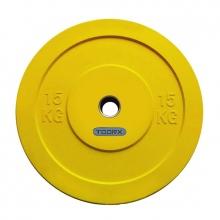 Δίσκοι για Μπάρες Βάρους 15kg Challenge Bumper Toorx