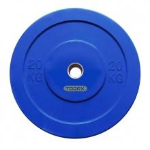 Δίσκοι για Μπάρες Βάρους 20kg Challenge Bumper Toorx