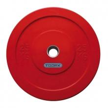 Δίσκοι για Μπάρες Βάρους 25kg Challenge Bumper Toorx