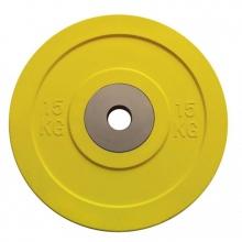 Δίσκοι για Μπάρες COMPETITION BUMPER 15kg Toorx