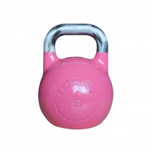 Olympic Kettlebell Αγωνιστικό 8 kg Ροζ Toorx
