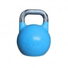 Olympic Kettlebell Αγωνιστικό 10 kg Μπλε Ανοιχτό Toorx