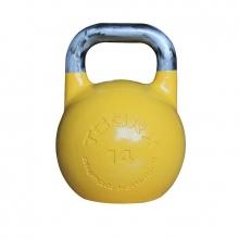 Olympic Kettlebell Αγωνιστικό 14 kg Ανοιχτό Κίτρινο Toorx