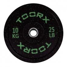 Ολυμπιακός Δίσκος Bumper Crumb 10kg 45cm Toorx