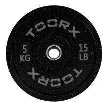 Ολυμπιακός Δίσκος Bumper Crumb 5kg 45cm Toorx