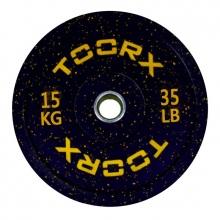 Ολυμπιακός Δίσκος Bumper Crumb 15kg 45cm Toorx