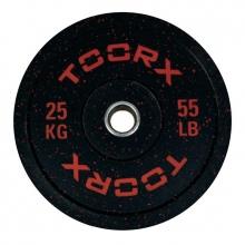 Ολυμπιακός Δίσκος Bumper Crumb 25kg 45cm Toorx