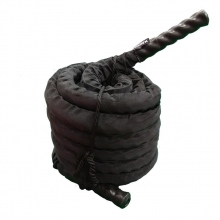 Battle Rope με Επένδυση BR-5015G 50 mm x 15 mt Toorx