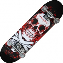 TRIBE PRO (BLOODY SKULL)-maple Skateboard-Nextreme