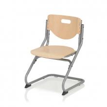 Παιδική Καρέκλα Γραφείου CHAIR PLUS ασημί/οξιά