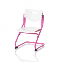 Καρέκλα Γραφείου Παιδική CHAIR PLUS ροζ/λευκό