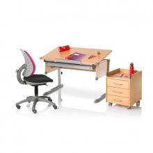 Παιδικό Γραφείο COLLEGE BOX II (06604-4272) οξιά/ασημί Kettler