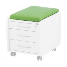 Πράσινο Μαξιλάρι για Συρταριέρες Kettler SIT ON, TRIO BOX