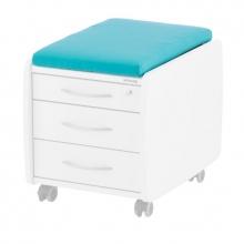 Γαλάζιο Μαξιλάρι για Συρταριέρες Kettler SIT ON, TRIO BOX