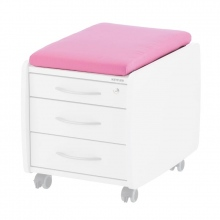 Ροζ Μαξιλάρι για Συρταριέρες Kettler SIT ON, TRIO BOX