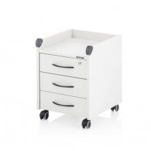 Συρταριέρα KETTLER Roll On - Λευκή (0W30101-2020)