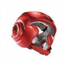 Κόκκινη Προστατευτική Κάσκα Κεφαλιού Boxing L/XL