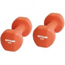 Βαράκια Neoprene 4kg Κόκκινο 7370-024 Kettler