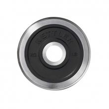 Δίσκος Χρωμίου με Λάστιχο 15 kg Ø30,5 mm Kettler