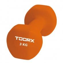 Βαράκι Neoprene 3kg Πορτοκαλί Toorx