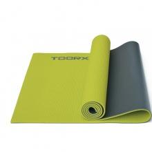 Στρώμα Yoga (MAT-176) Πράσινο/γκρι-Toorx