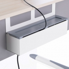 Κουτί Καλωδίων για Γραφεία Kettler, MAZE λευκό / γκρι