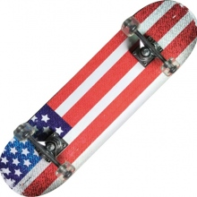 TRIBE PRO (USA FLAG)-maple Skateboard-Nextreme