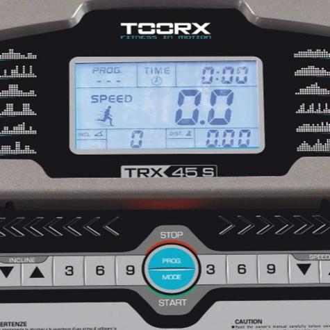 Κονσόλα Διαδρόμου Γυμναστικής TRX 45 S Toorx