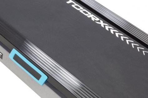διάδρομος τρεξίματος με αντικραδασμικό δάπεδο trx power compact toorx